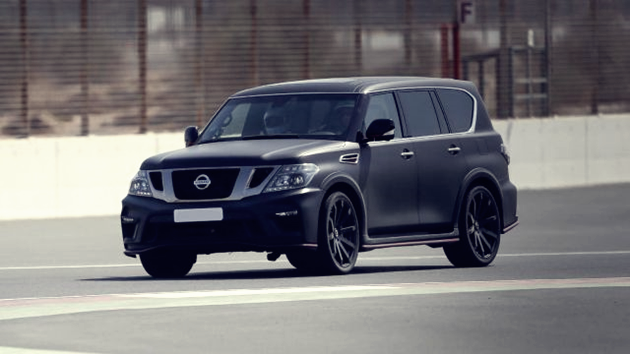 21 New 2020 Nissan Patrol First Drive