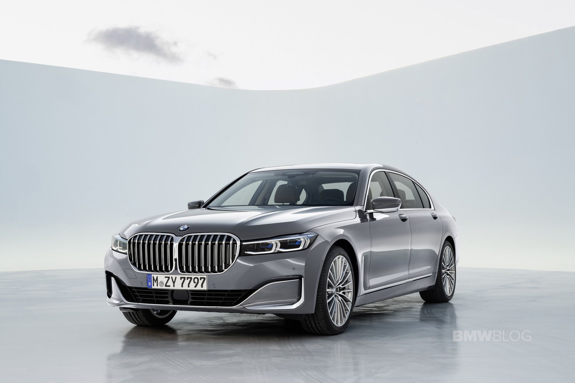 21 The 2019 BMW 750Li New Concept