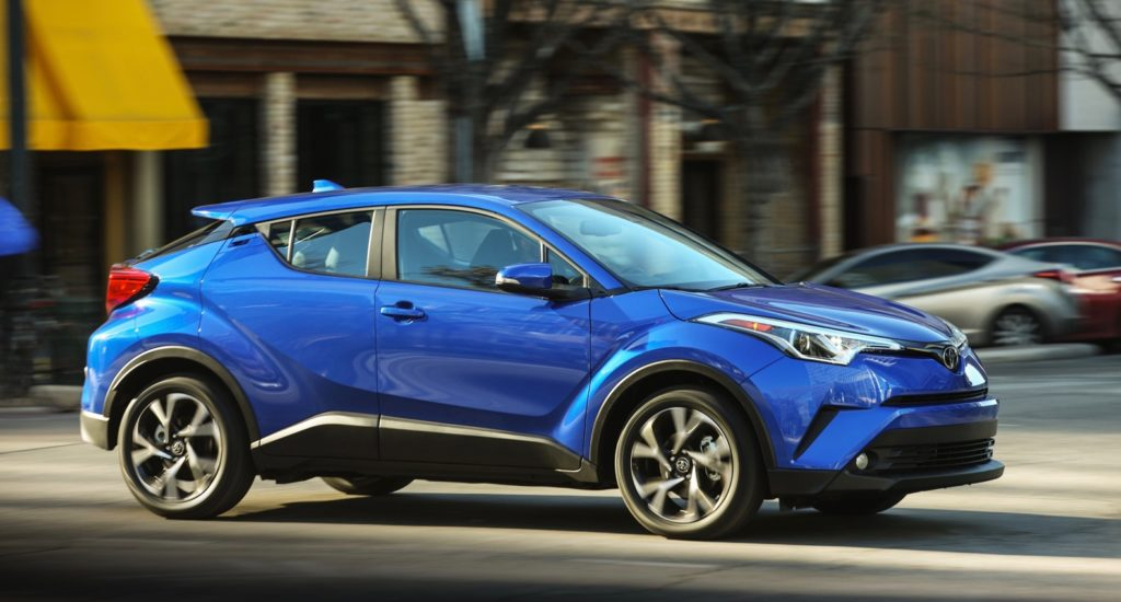 22 A 2019 Toyota C Hr Compact Performance