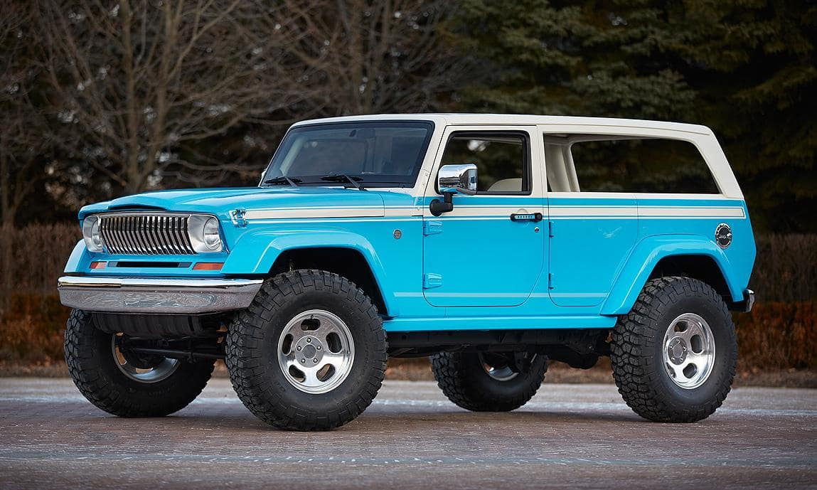 23 A 2020 The Jeep Grand Wagoneer Overview