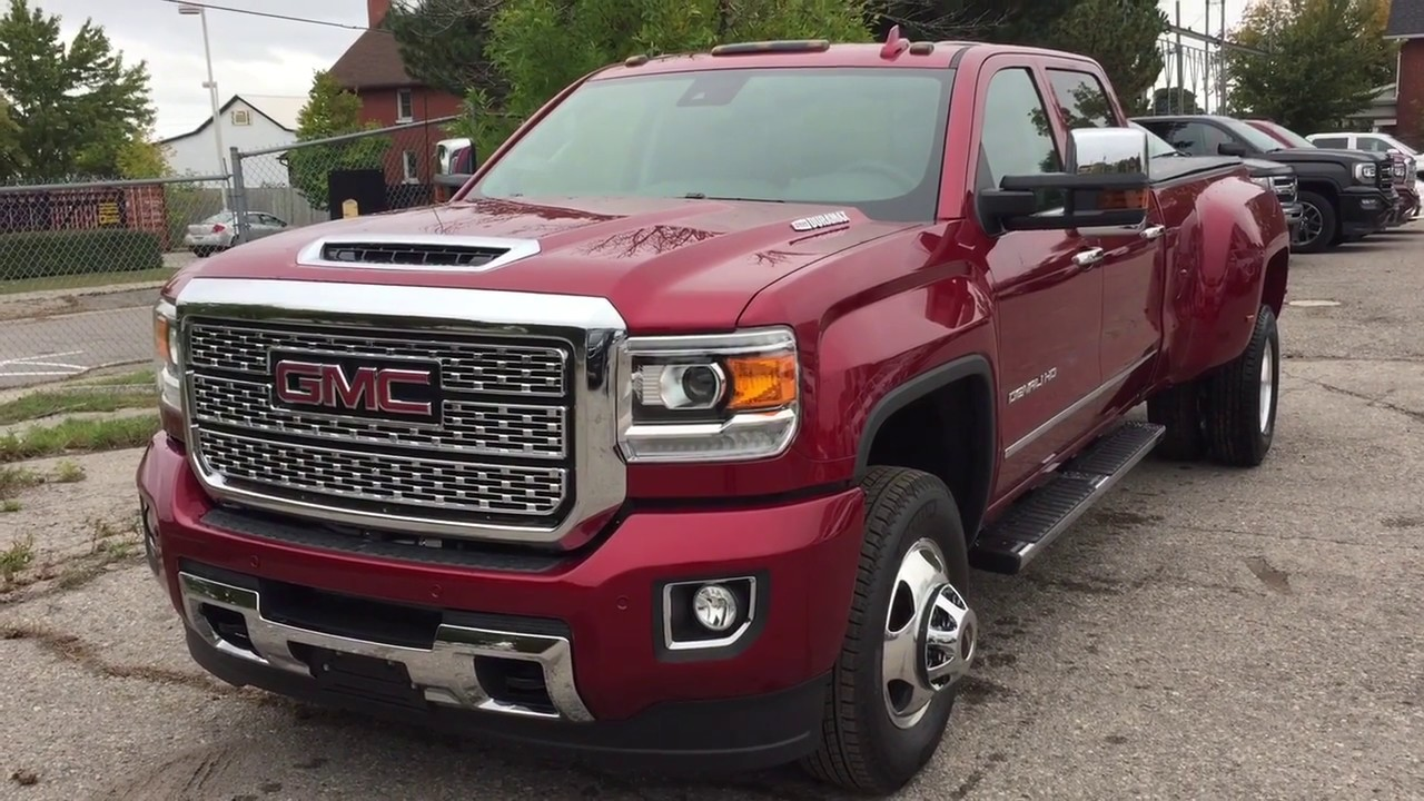 23 The 2019 GMC Denali 3500Hd Price Design and Review