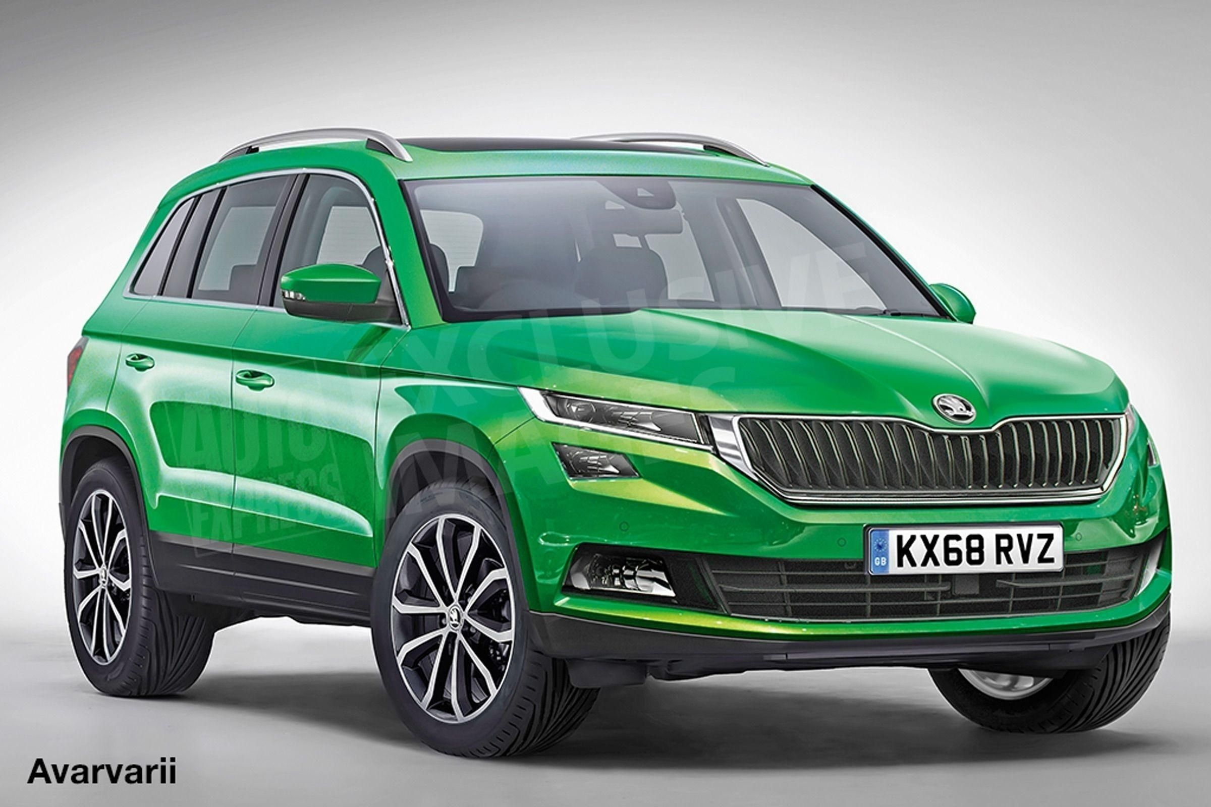 23 The 2019 Skoda Yeti India Egypt Pictures