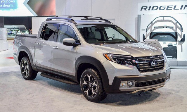24 All New 2020 Honda Ridgeline Exterior
