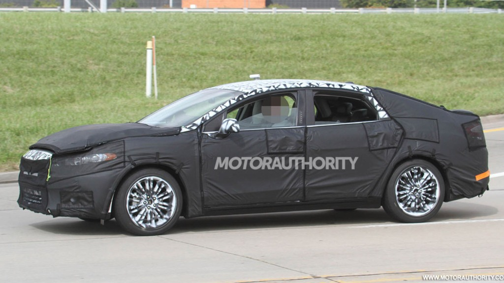 24 The Spy Shots Ford Fusion First Drive