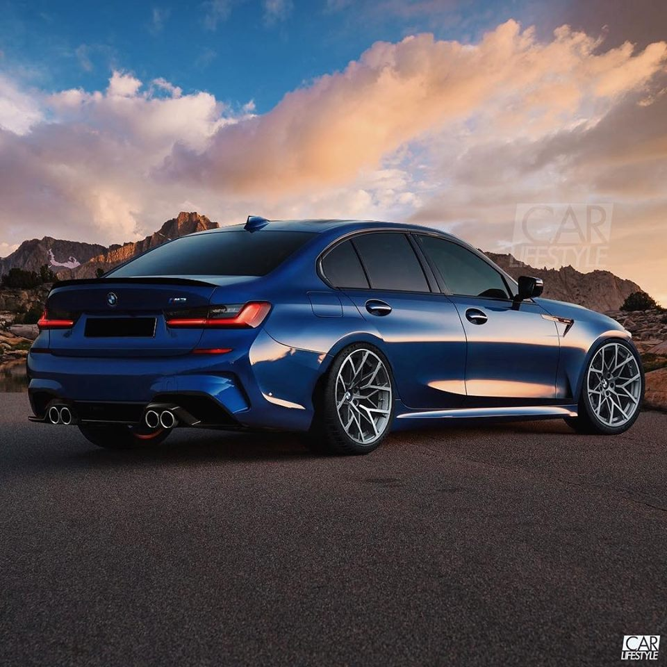 25 A 2020 BMW M3 Photos