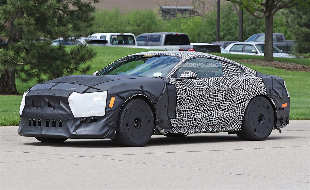 25 The Spy Shots Ford Mustang Svt Gt 500 Concept