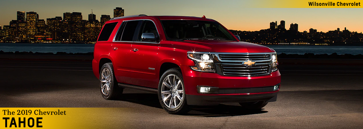 26 A 2019 Chevy Tahoe Overview