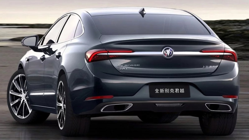 26 A 2020 Buick LaCrosse Configurations