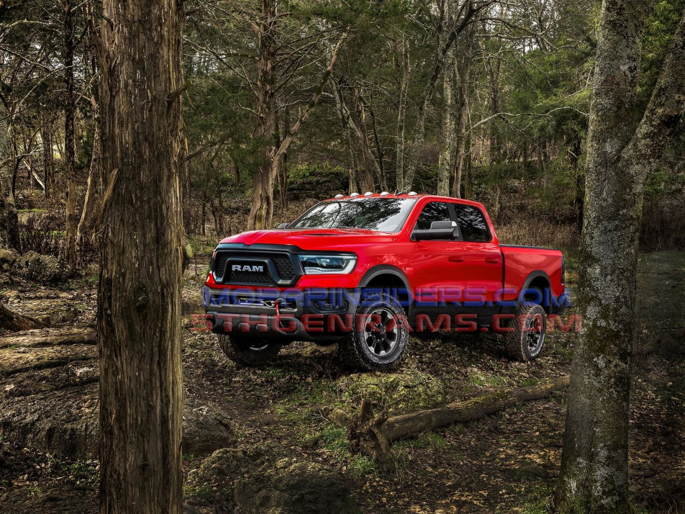 26 A 2020 Dodge Power Wagon Photos