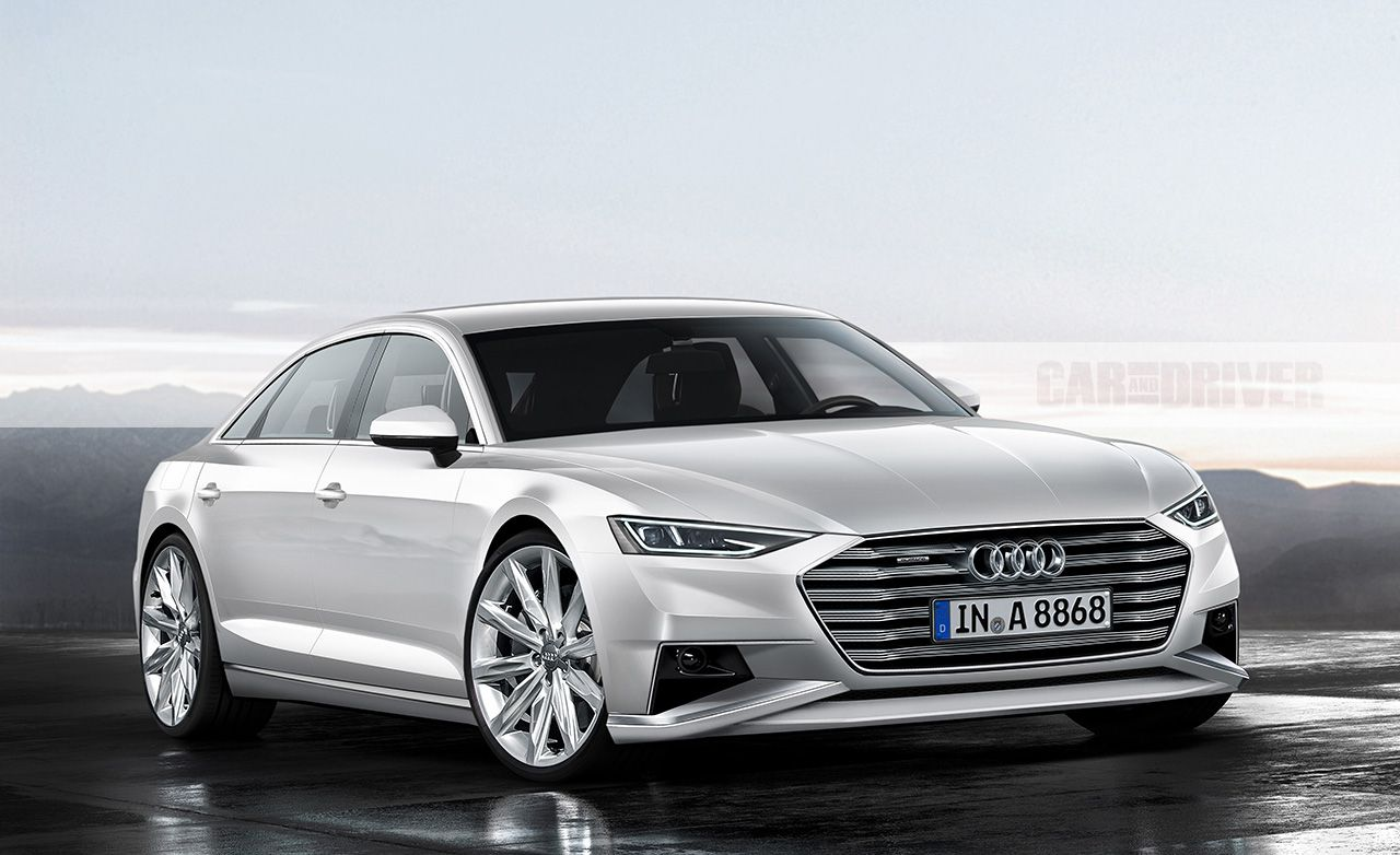 27 All New Audi A8 Picture