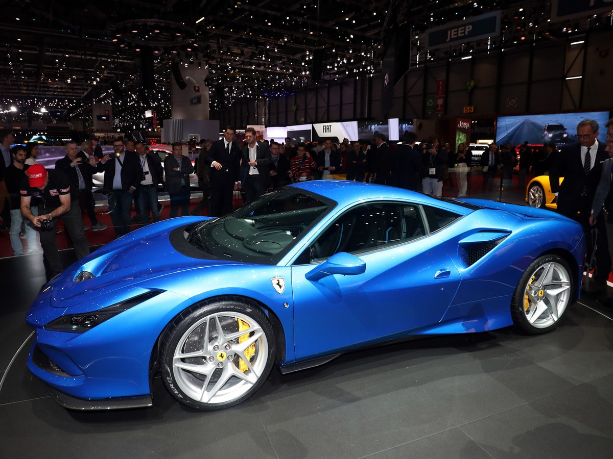 28 A 2020 Ferrari 458 Spy Shoot