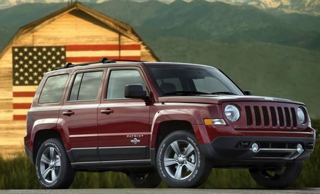 28 The 2019 Jeep Patriot Picture