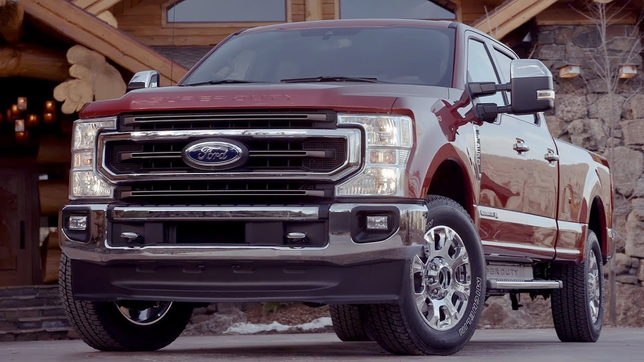 28 The 2020 Ford F 250 Spy Shoot