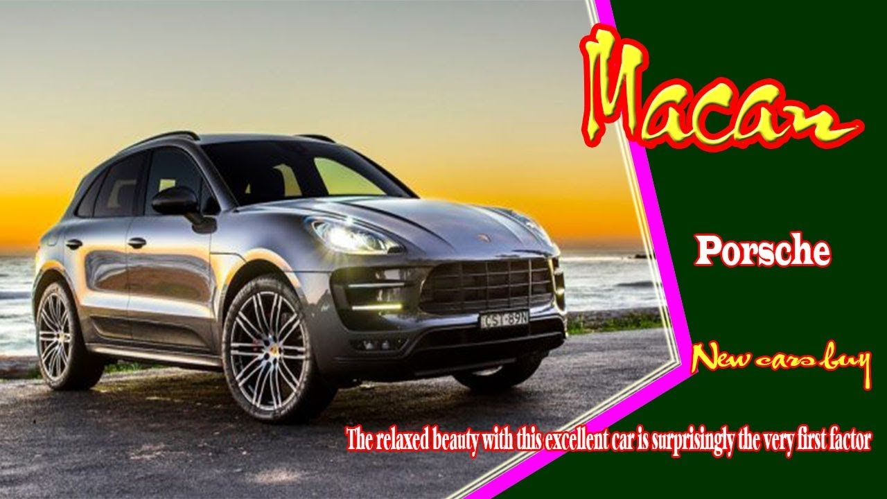 28 The Best 2020 Porsche Macan Price Design and Review