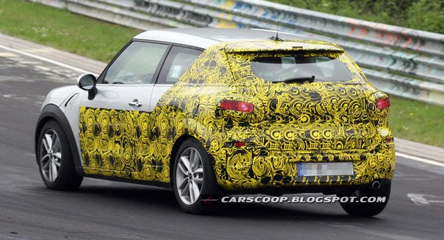 28 The Spy Shots Mini Countryman Price