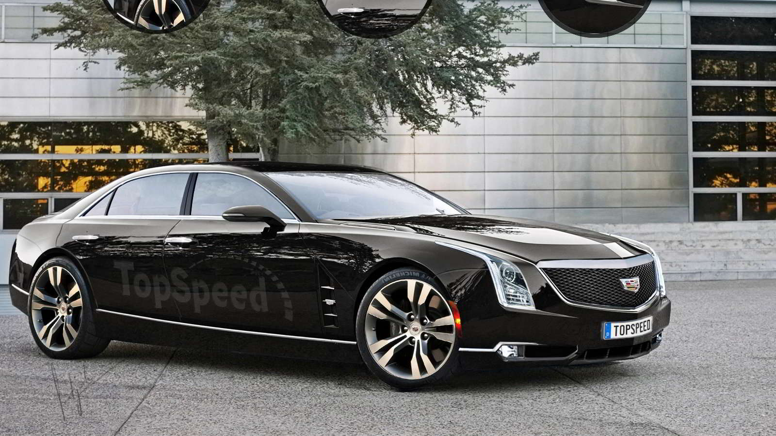 29 A 2020 Cadillac LTS Spy Shoot