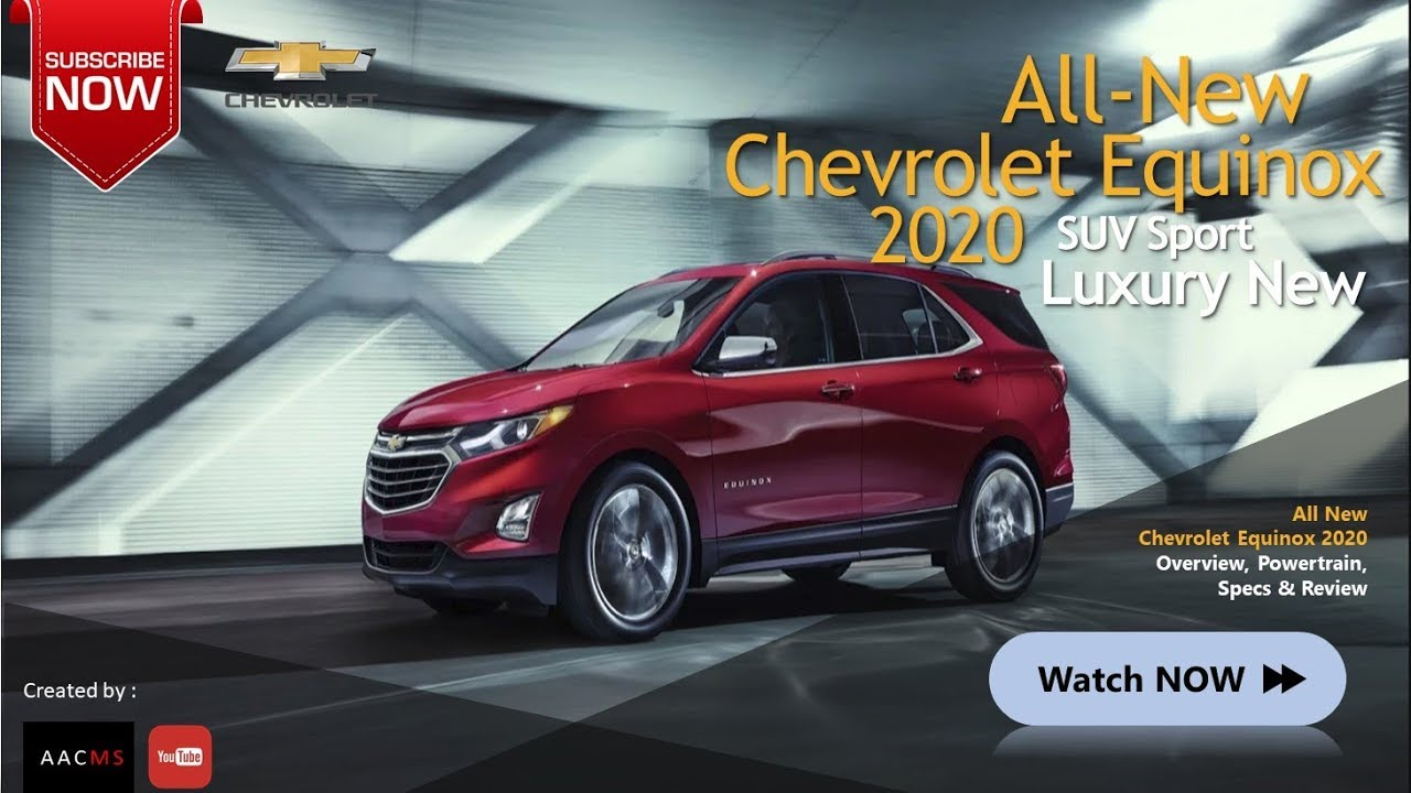 29 Best 2020 Chevrolet Equinox Redesign and Concept