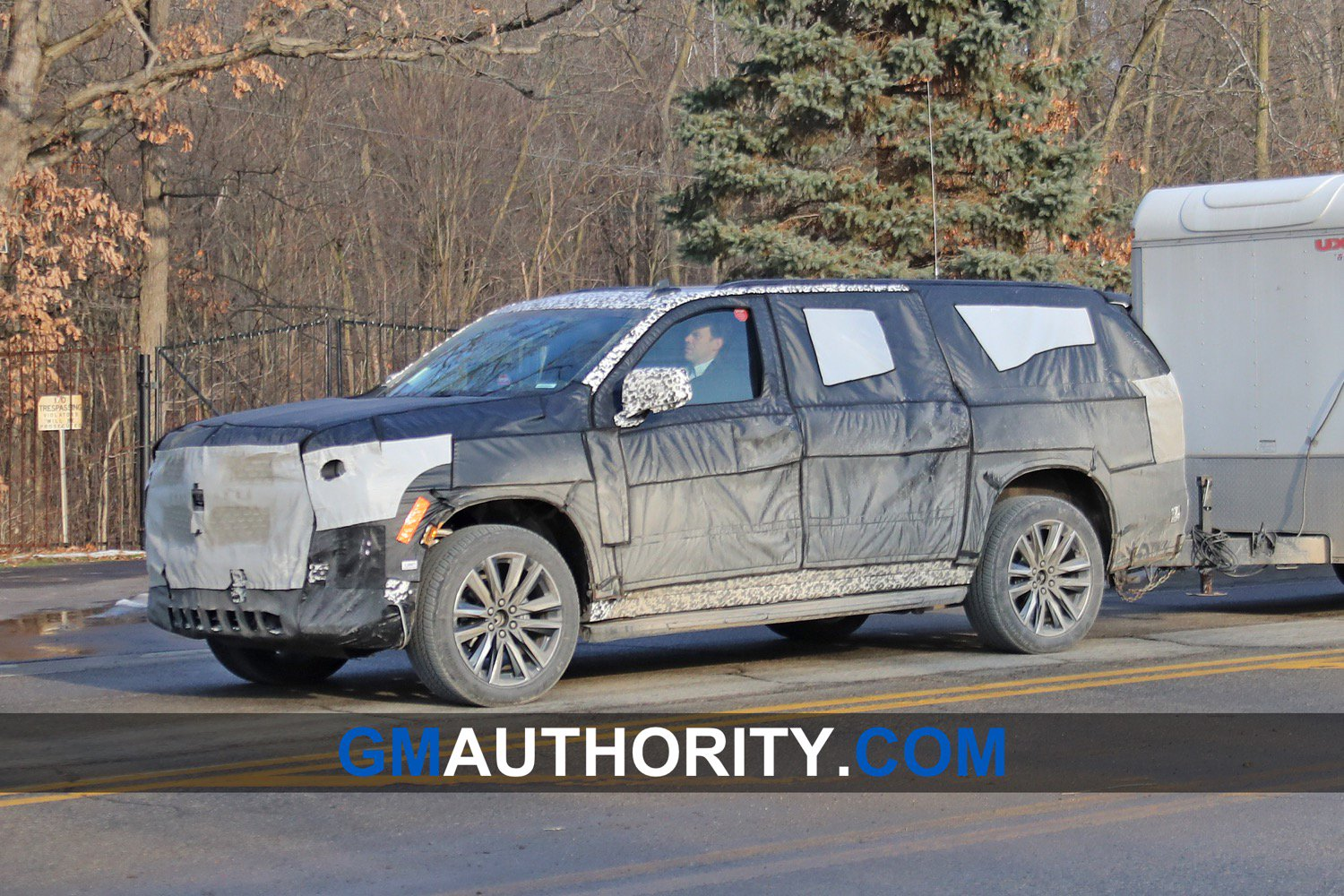 29 New 2020 Cadillac Escalade Vsport Spy Shoot