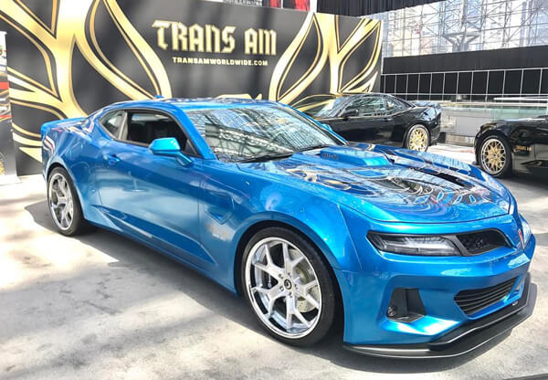 29 The 2019 Pontiac Trans Am Performance