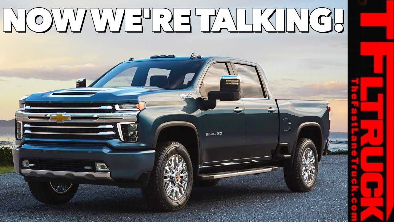 30 All New 2020 Chevy Duramax Concept