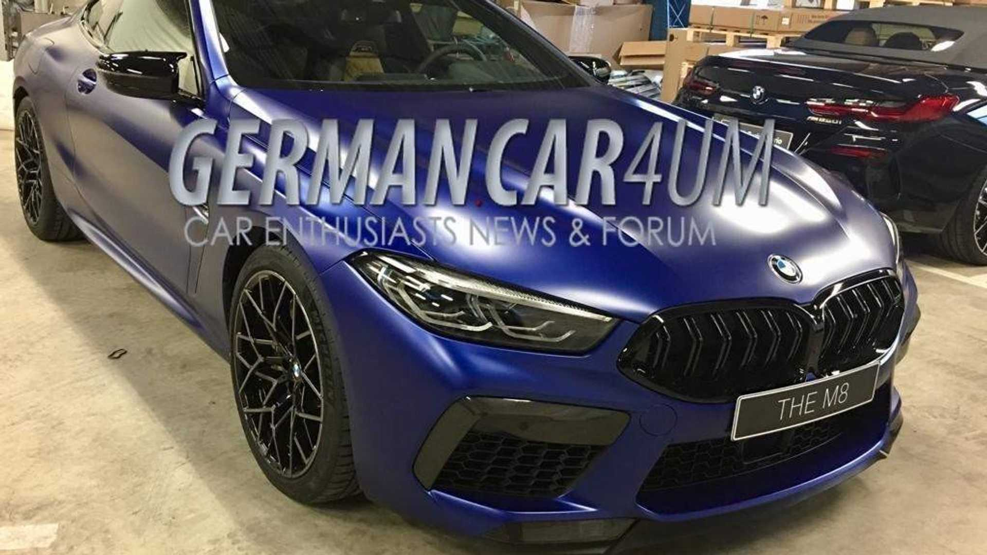 31 A 2020 BMW M8 Research New