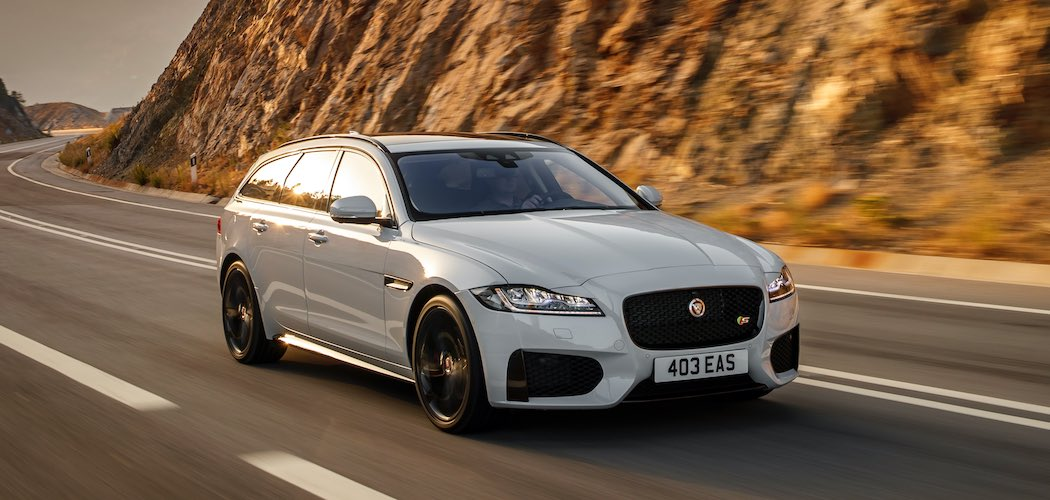 31 A 2020 Jaguar XF Spy Shoot