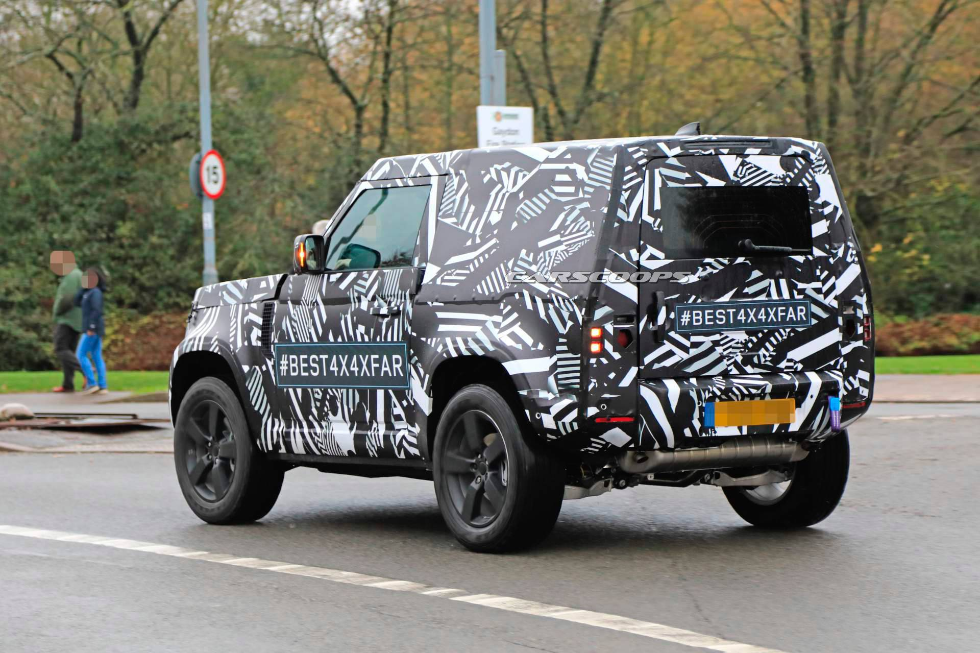 31 New 2020 Land Rover Defender Picture