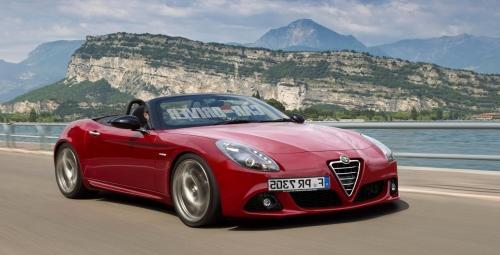 31 The 2019 Alfa Romeo Duetto Spy Shoot