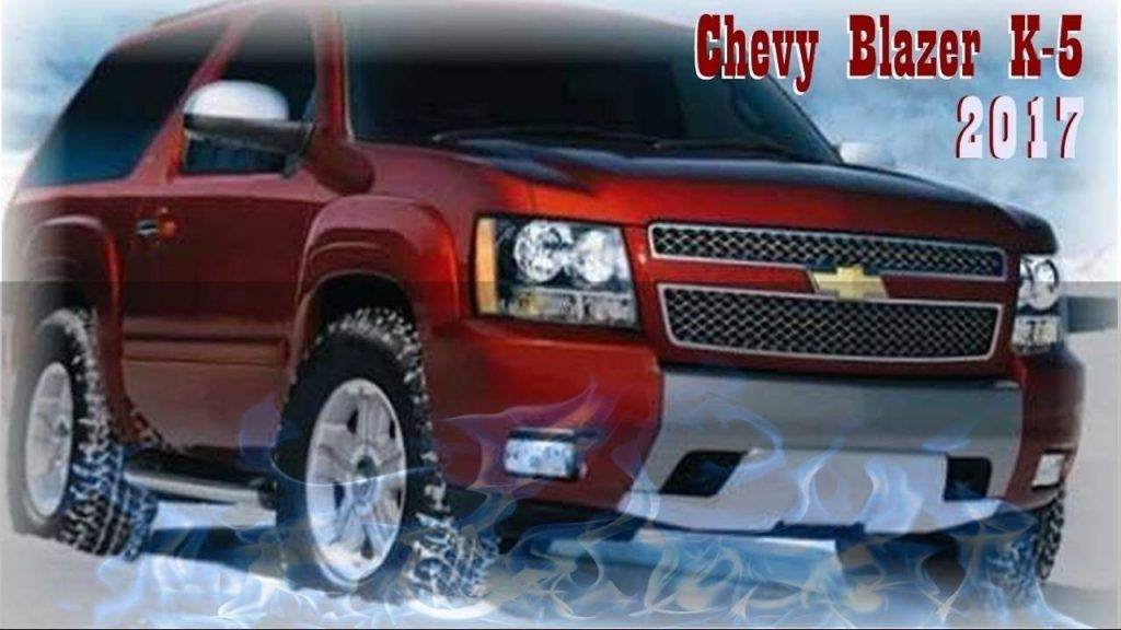 32 A 2020 Chevy Blazer K 5 New Review