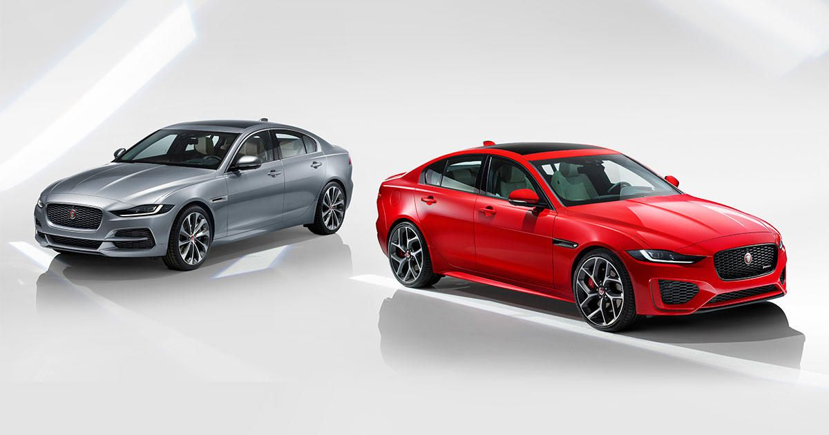 32 A 2020 Jaguar XE Photos