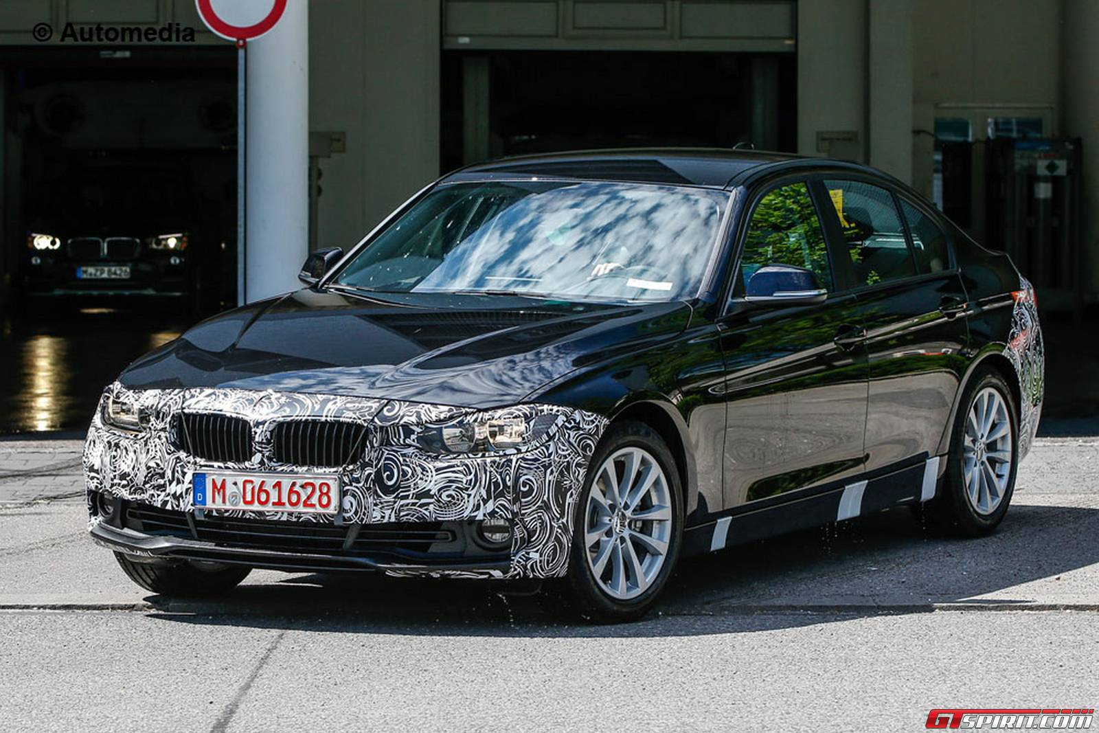32 The Spy Shots BMW 3 Series Performance and New Engine