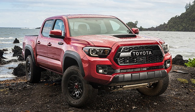 33 A 2019 Toyota Tacoma Diesel Wallpaper