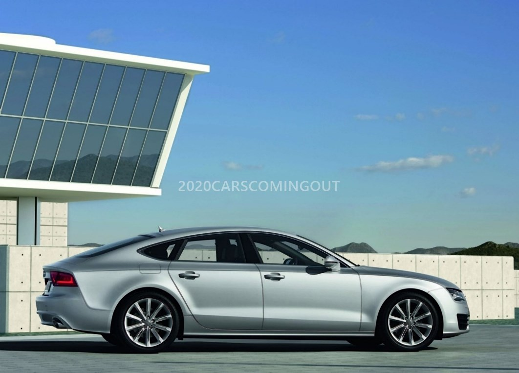 33 A 2020 All Audi A7 First Drive