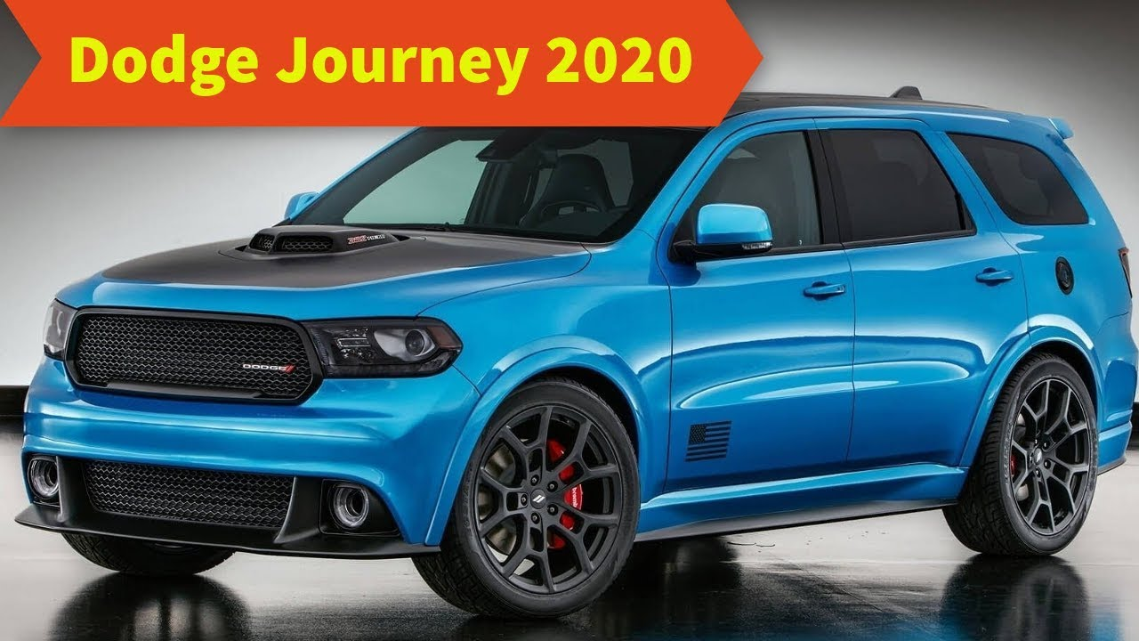 33 A 2020 Dodge Journey Release Date and Concept