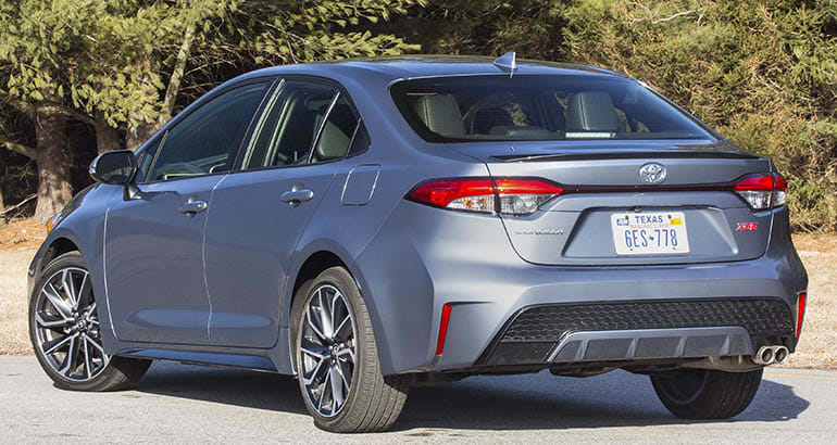 33 The 2020 Toyota Corolla Speed Test