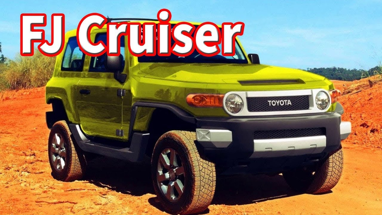 33 The 2020 Toyota FJ Cruiser Spy Shoot
