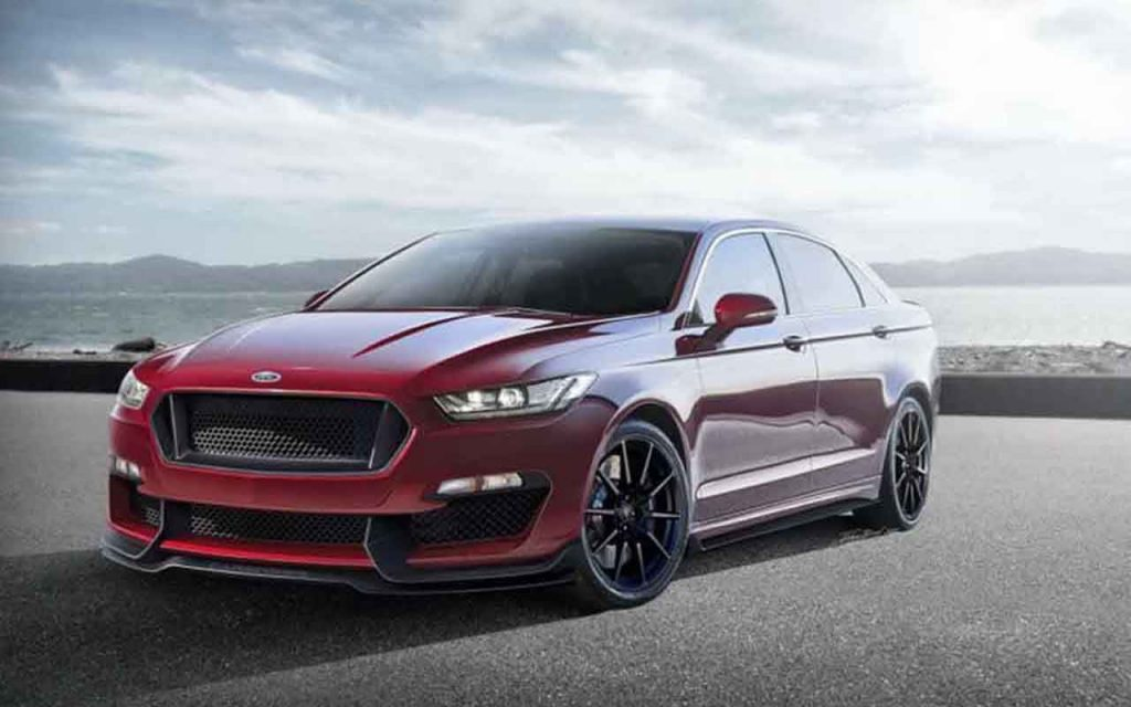34 A 2020 Ford Taurus Spy Performance