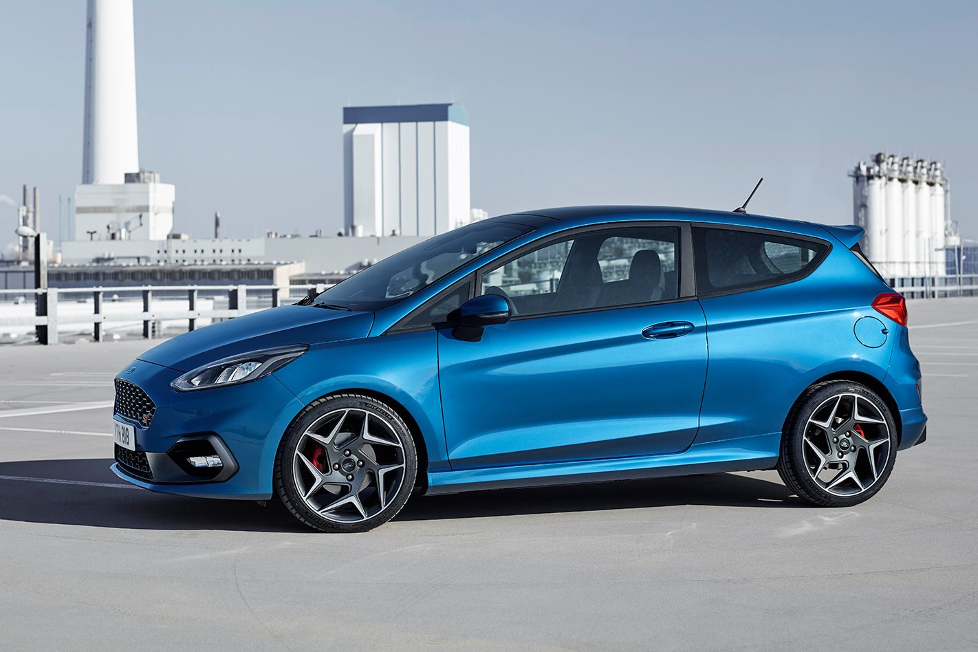 34 All New 2019 Fiesta St Interior