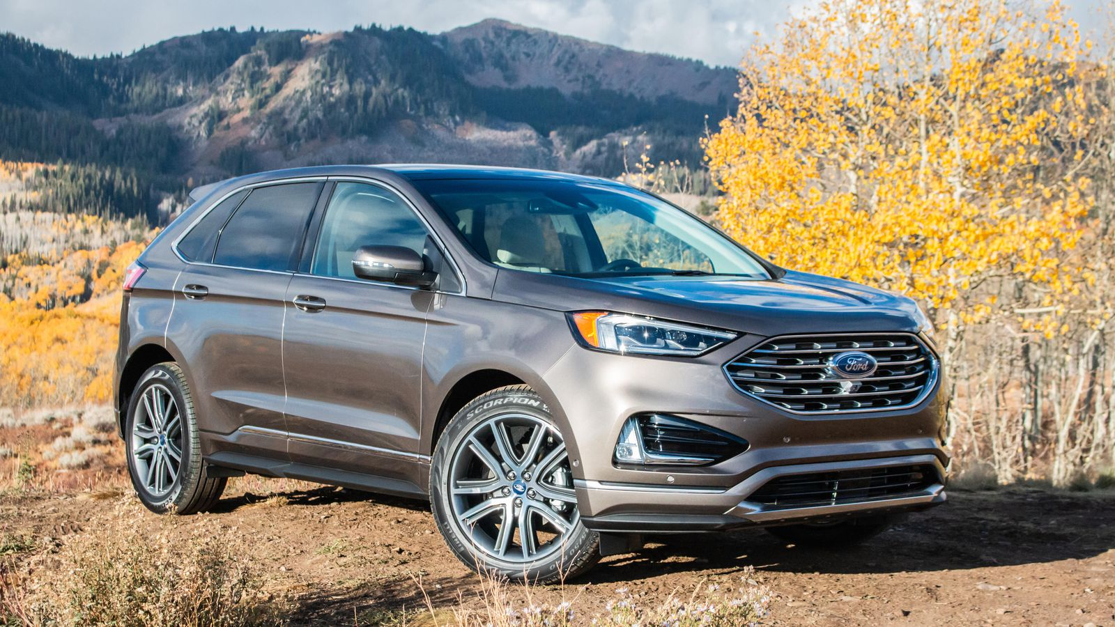 34 The 2019 Ford Edge New Design Spesification