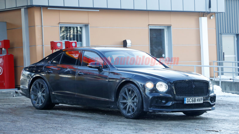 35 A 2020 Bentley Flying Spur Concept