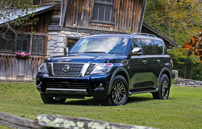 35 All New 2020 Nissan Armada Spy Shoot
