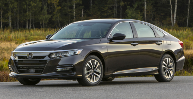 35 The 2019 Honda Accord Hybrid Spy Shoot