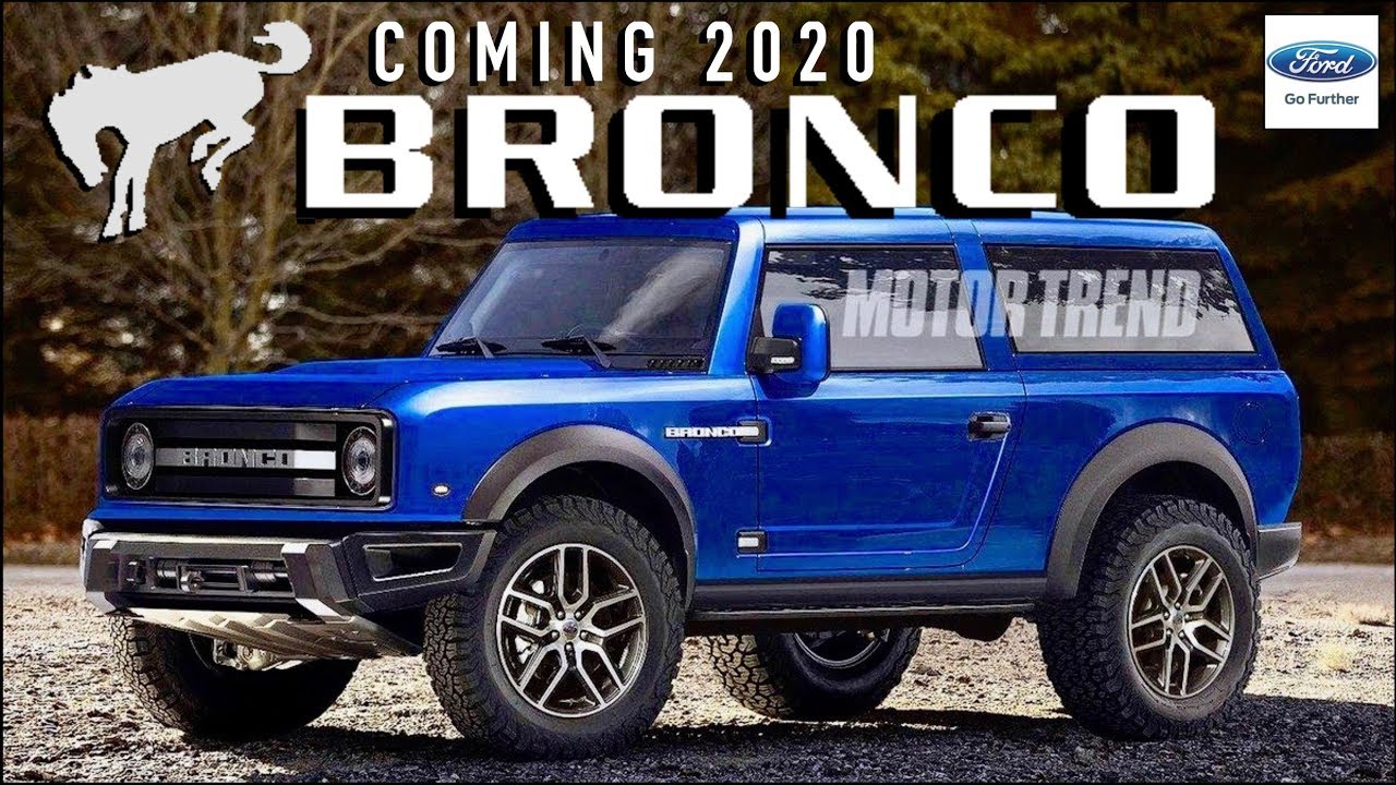 36 A 2020 Ford Bronco Redesign and Concept