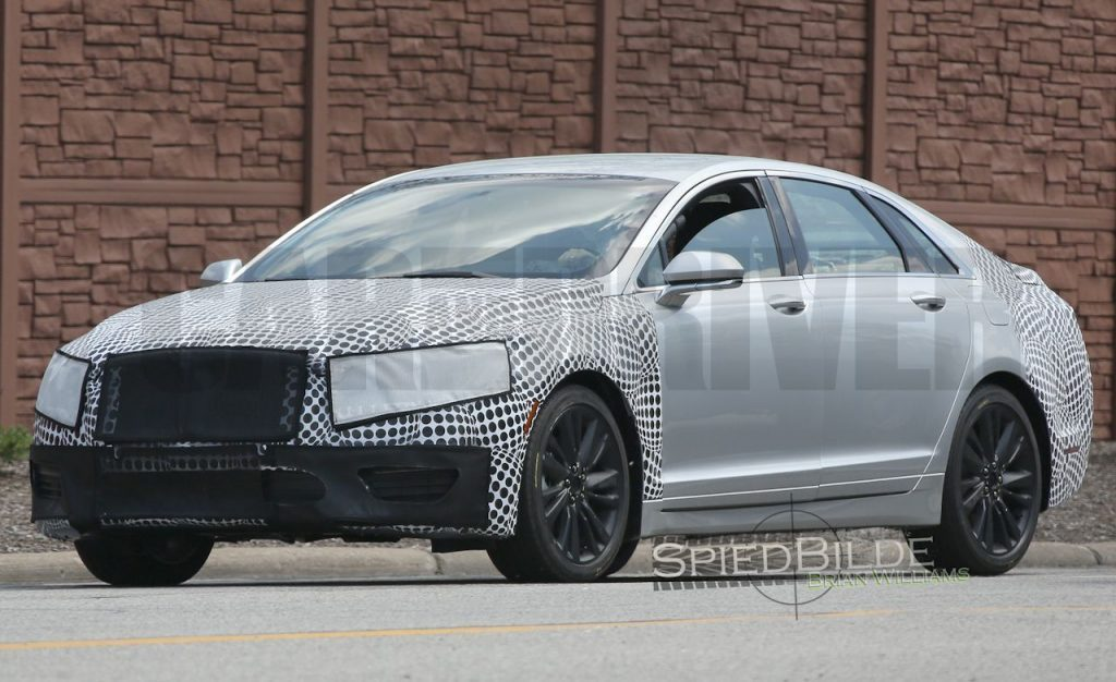 36 The Best Spy Shots Lincoln Mkz Sedan Model