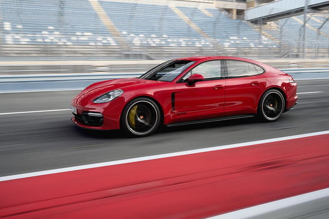 37 The 2020 Porsche Panamera Exterior and Interior