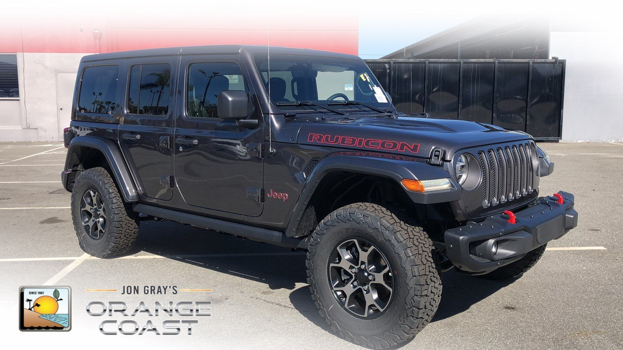 37 The Best 2019 Jeep Wrangler Rubicon Picture