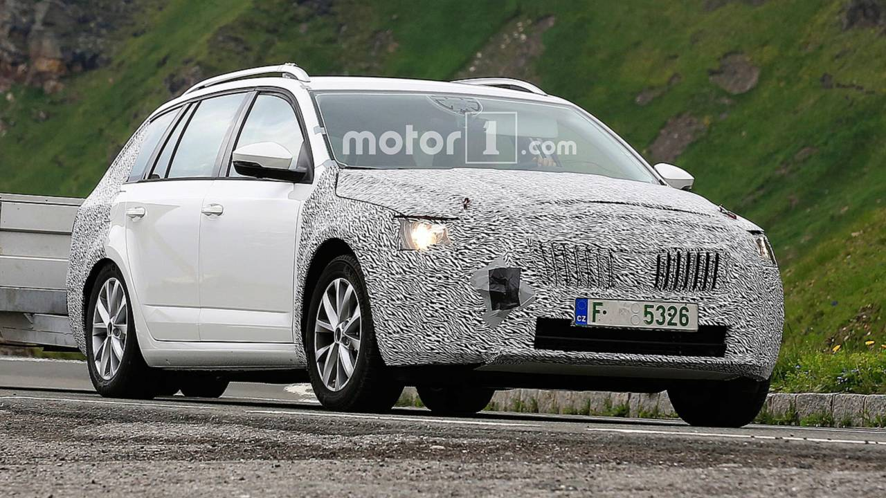37 The Spy Shots Skoda Superb Release