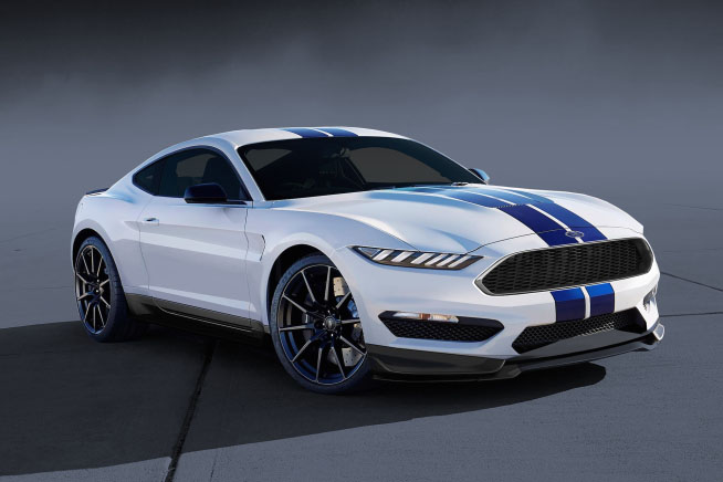 38 A 2020 Ford GT350 Configurations