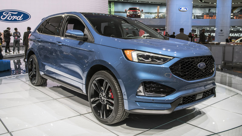 38 All New 2019 Ford Edge Sport Style
