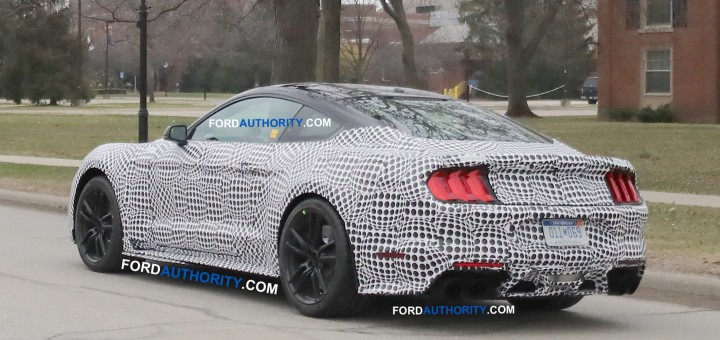 38 All New Spy Shots Ford Mustang Svt Gt 500 Exterior